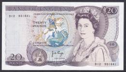 UK/Bank Of England:- 20 Pounds/P.380b (Page):- EF - 1952-… : Elizabeth II