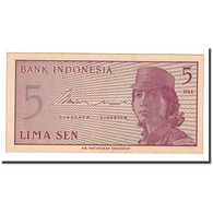 Indonésie, 5 Sen, 1964, KM:91a, NEUF - Indonésie