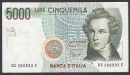Italy:- 500 Lire/P.111b (Ciampi/Speziali/ 1985):- F (Graffiti) - [ 2] 1946-… : Républic