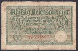 Germany/Occupied Territories:- 50 Reichspfennig/R.135 (1940/45): - VG - Besatzungsgebiete In Deutschland