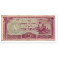 Birmanie, 10 Rupees, Undated (1942-44), KM:16b, TTB+ - Myanmar