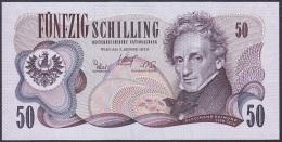 Austria:- 50 Schilling/P.143 (02/01/1970):- EF - Oesterreich