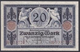 Germany/Empire:- 20 Mark/P.63 (1915):- VF+ - 20 Mark