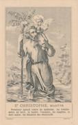Image Religieuse SAINT CHRISTOPHE Martyr ( Se Trouve Seulement Chez Peladan à NIMES )  ( Recto Verso ) - Devotion Images