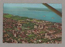 MOZAMBIQUE LOURENÇO MARQUES Aerial View PC Air Mail Stamp Ship 70 MOÇAMBIQUE Z1 - Postcards