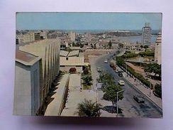 LUANDA Car Cars Street Scene Postcard 1960ys AFRICA AFRIKA AFRIQUE ANGOLA    Z1 - Postcards
