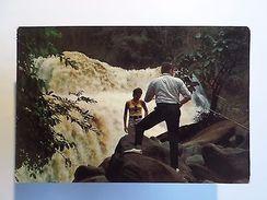 AFRICA AFRIKA AFRIQUE CONGO KONGO CENTRAL CHUTE DE ZONGO 1970 YEARS POSTCARD Z1 - Postcards