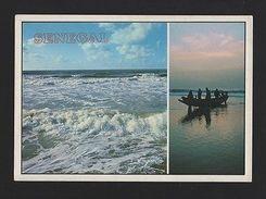 POSTCARD SENEGAL AFRICA AFRIKA AFRIQUE SEASCAPE Fishing Boat Boats Sea  Z1 - Unclassified