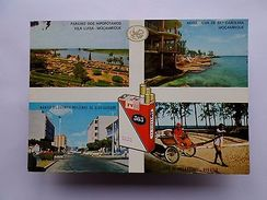 Postcard 1960s MOZAMBIQUE MOÇAMBIQUE VILA LUÍSA NAMPULA ILHAA ST. CAROLINA Z1 - Postcards