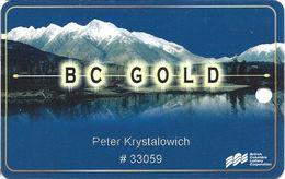BCLC Casinos British Columbia Canada - Slot Card - Casino Cards