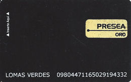 PlayCity Mexico With KRDS On Reverse - Slot Card .....[FSC]..... - Casino Cards