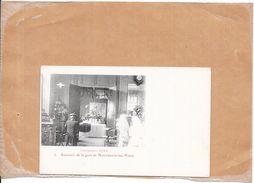 DEPT 71 - Souvenir De La Gare De MONTCHANIN LES MINES - Campagne 1914 - BORD - - France