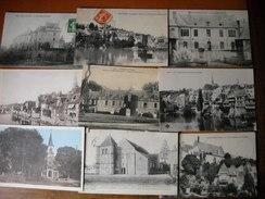 LOT N°1 De 30 CPA Du Départ 36 Indre - 3 Scans - Cartes Postales