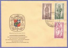 BER SC #9NB14-6 1955 Bishopric Of Berlin, 25th Anniv. FDC 11-26-1955 - FDC: Covers