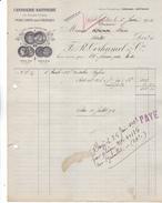 44 Nantes- Candiserie-raffinerie F R Corhumel & Cie. Lettre Illustrée De 1913. Tb état. - 1900 – 1949