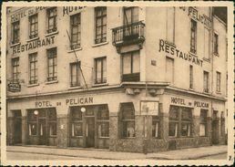 AK Bruxelles Nord, Hotel-Restaurant Du Pélican, Rue Des Croisades, Um 1943 (26247) - Cafés, Hôtels, Restaurants