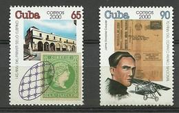 CUBA 2000  Yt 3859/60  ** MNH - Cuba