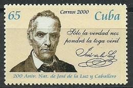 CUBA 2000  Yt 3874  ** MNH - Cuba
