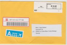 B378 / Automaten-Einschreiben 2017 - Briefe U. Dokumente
