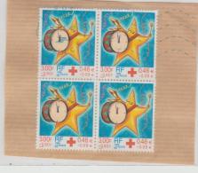 Frankreich 245 / Fragment, 4-er Einheit (Rotes Kreuz) - Frankreich