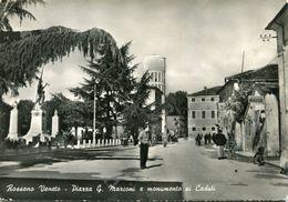 ITALIE ROSSANO VENETO - Piazza G Marconi E Monumento Ai Caduti - Vicenza