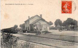 Cpa 49  BEAUFORT-EN-VALLEE    LA GARE - Autres Communes