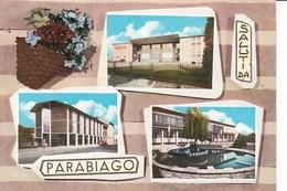 R328 SALUTI DA PARABIAGO - VEDUTINE PANORAMICHE - Milano