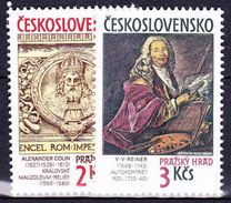 ** Tchécoslovaquie 1989 Mi 3003-4 (Yv 2805-6), (MNH) - Tchécoslovaquie