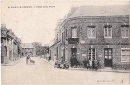 76. BLAINVILLE-CREVON. L'Hôtel De La Poste - France