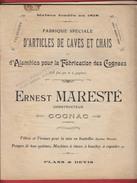 Catalogue COGNAC Ernest Maresté Machines Viticulture , Alambic , Pompes , Pressoir Vendanges - Cognac