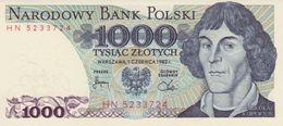 POLAND 1000 ZŁOTYCH 1982 P-146c UNC [PL838c] - Polen