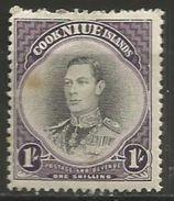 Niue - 1938 King George VI MH *  Sc 73 - Niue