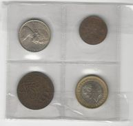 Lot Of 4 Coins - Kilowaar - Munten