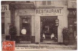 MARSEILLE - Hôtel-Restaurant De Valence,Propriétaire CASIMIR  RAYNAL Au  82 Rue Bernard-du-Bois. - Autres