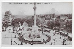 DC 975 - MARSEILLE - Place Castellane Et Avenue Du Prado - LL313 - Castellane, Prado, Menpenti, Rouet