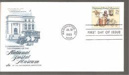 FDC 1993  NATIONAL POSTAL  MUSEUM - Ersttagsbelege (FDC)