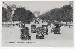 DC 976 - PARIS - L'Avenue Des Champs-Elysees. - LL 4 - Arrondissement: 08