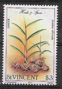 1985 SAINT VINCENT 811** Plante Aromatique, Issu De Série - St.Vincent (1979-...)