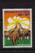 Ivory Coast 2002, Elephants, Minr 1299, Vfu - Côte D'Ivoire (1960-...)
