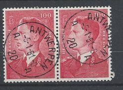 Nr 1075 Gestempeld - 1936-1951 Poortman