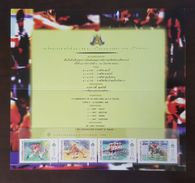 Thailand Stamp Presentation Pack 1998 13th Asian Games 2nd Series - Thailand