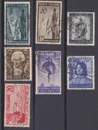 REPUBBLICA 1949  7 Valori Usati.  026 - 1946-60: Oblitérés