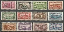 SYRIE N° 167 à 178 NEUF* CHARNIERE TB / MH - Syria (1919-1945)