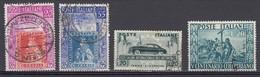 REPUBBLICA 1951  4 Valori Usati.  027 - 1946-60: Oblitérés