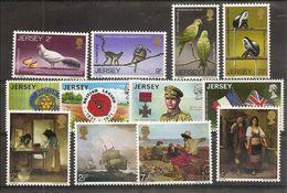 1971 Jersey  ANNATA  YEAR Di 12 V. (43/54) MNH** - Jersey