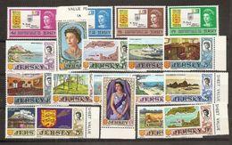 1969 Jersey  ANNATA  YEAR Di 19 V. (1/19) MNH** - Jersey