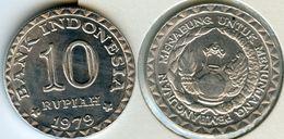 Indonesie Indonesia 10 Rupiah 1979 FAO KM 44 - Indonesia