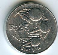 Indonesie Indonesia 25 Rupiah 1996 KM 44 - Indonésie
