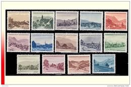 Liechtenstein 0199/212** Zumstein 188/201 Série Courante - MNH- - Liechtenstein