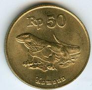 Indonesie Indonesia 50 Rupiah 1995 KM 52 - Indonesia